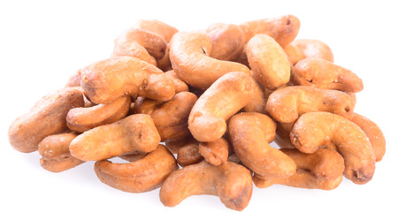 cashew nuts. cashew nuts on background photo