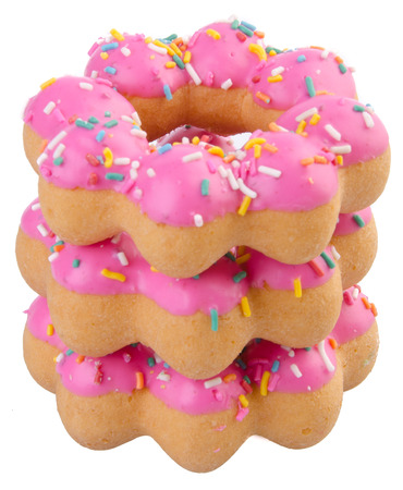Donut, funny donut on the background photo