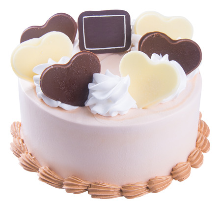cake. chocolate ice cream cake photo
