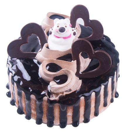 cake. chocolate ice cream cake photo