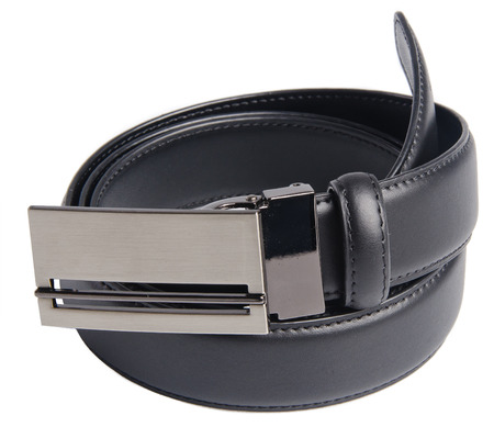 belts. mens belts on background photo
