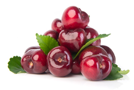 cherry. cherry berry on a background photo