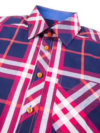 shirt. mens shirt closeup on background photo