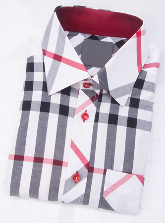 mens shirt folded o Zdjęcie Seryjne