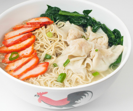 ton: wonton noodle. Hong Kong food