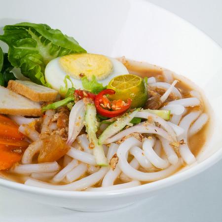 laksa: assam laksa, asian malaysian food