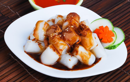 sum: Chee Cheong Fun. Chinese rice noodle roll