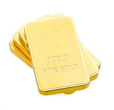 Gold bars with the background. Archivio Fotografico