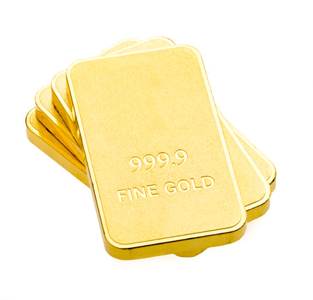 Gold bars with the background. Фото со стока