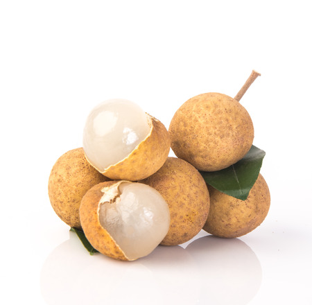 longan. fresh longan on the background photo