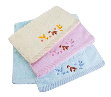 dishtowel: towel. Kitchen towel on the background