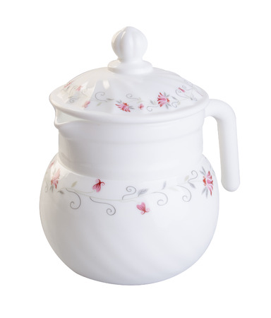 teapot: teapot on white background
