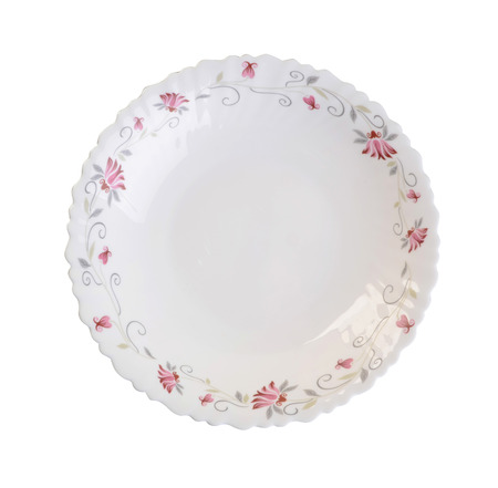 empty plate: plate, plate on background. ceramic plate on a background.