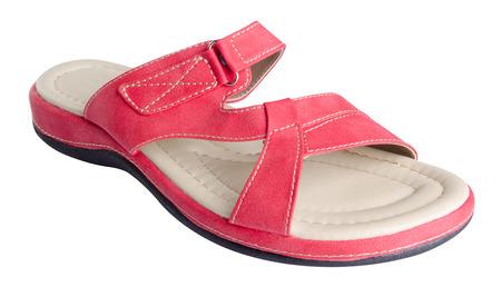 sandal: zapato. sandalia de la mujer en el fondo. sandalia de la mujer sobre un fondo