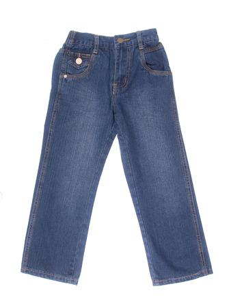 in jeans: jeans para ni�os o blue jeans de color sobre un fondo