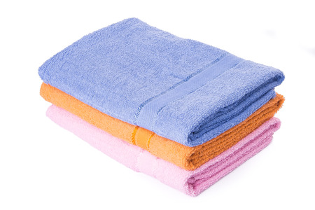 in towel: towel. towel on the background