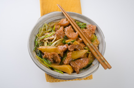 chinese cuisine: pork. chinese cuisine asia food