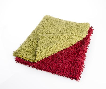 doormat: Carpet or doormat on white background.