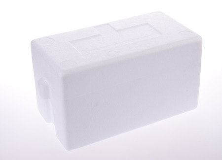 coll box or container on the background Stock Photo