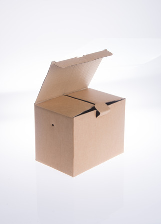shipped: box. cardboard box on the background.
