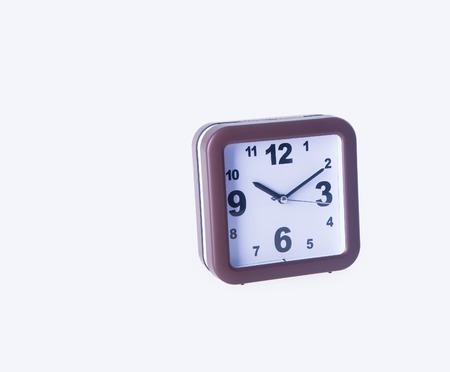reloj: reloj despertador. reloj de alarma en el fondo. reloj de alarma en el fondo Foto de archivo