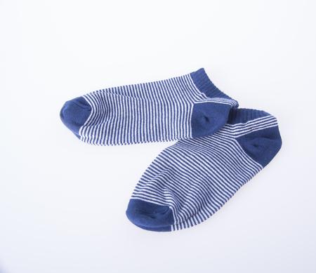 socks child: socks. socks on background. socks on a background Stock Photo