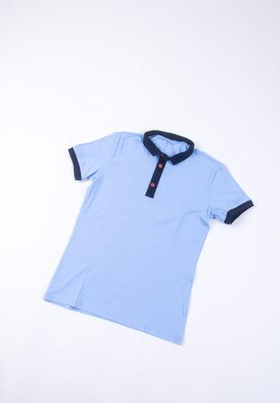 white sleeve: shirt. mens shirt on background. mens shirt on a background