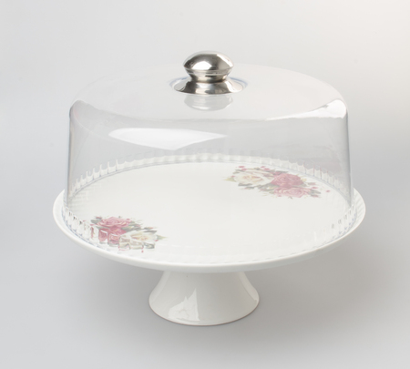 dessert stand: cake stand or dessert stand on a backgeound