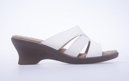 sandalia: shoe. woman sandal on background. woman sandal on a background