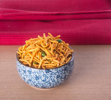 murukku: murukku or traditional indian snack on background