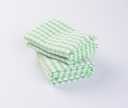 dishtowel: towel or kitchen towel on a background