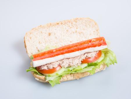 sandwich or health sandwich on the background