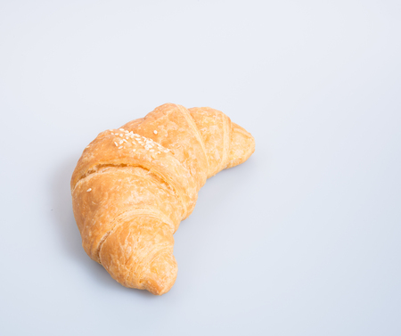 croissant or tasty croissant on the background