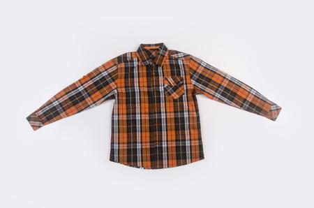 shirt or man dress shirt on background