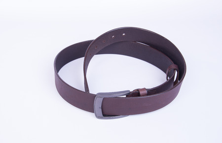 belt or belt for men on background