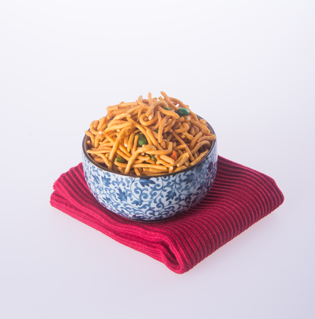 murkoo: murukku or traditional indian snack on background