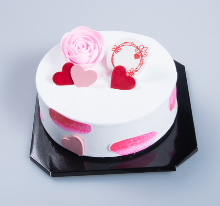 cake or birthday cake on a background