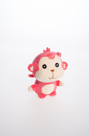 toy or monkey soft toy on the background Stock Photo
