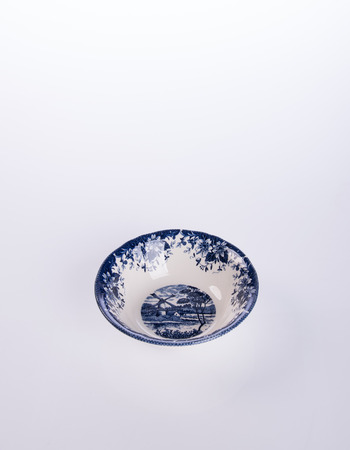 bowl or ceramic bowl on a background
