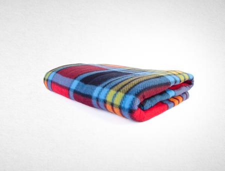 毛布や背景に柔らかい暖かい毛布 写真素材