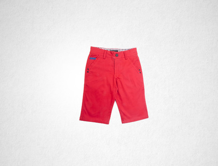 grid pattern: pants or childs shorts pants on background Stock Photo