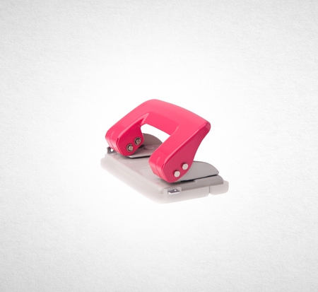 pierce: Hole puncher or paper hole puncher on background