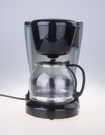 Coffee Maker. Coffee Maker on a white background. Foto de archivo