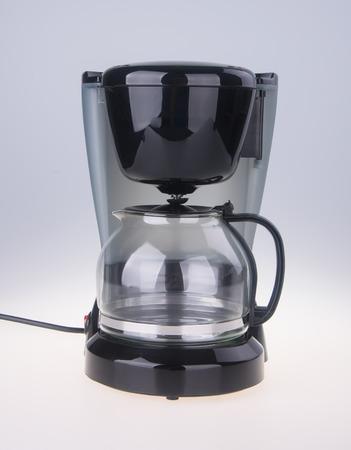 Coffee Maker. Coffee Maker on a white background. Standard-Bild