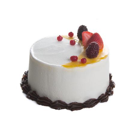cake or Ice cream birthday cake on a background