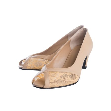 shoe or woman shoe on a background new