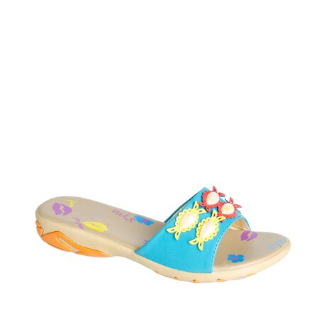 shoe or woman sandal on a background