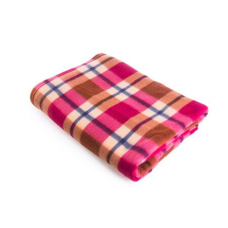blanket or folded blanket on a background new