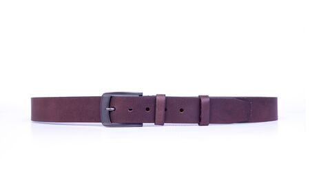 belt or brown colour belts on a background new
