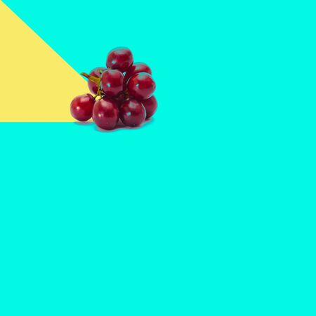 Grape or fresh grapes on a background new